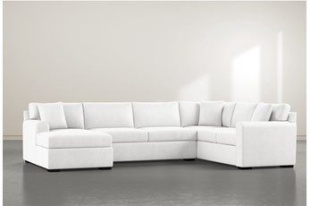 "Cypress II Foam 3 Piece 136"" Sectional With Left Arm Facing Chaise"