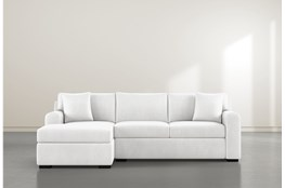 Cypress II Foam 2 Piece Sectional With Left Arm Facing Chaise