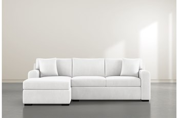 """Cypress II Foam 2 Piece 103"""" Sectional With Left Arm Facing Chaise"""