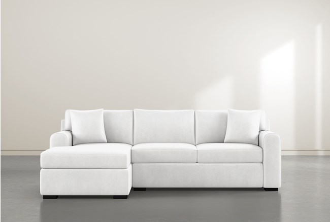 """Cypress II Foam 2 Piece 103"""" Sectional With Left Arm Facing Chaise - 360"""