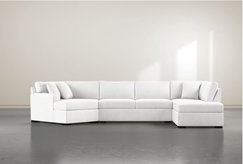 """Cypress II Foam 3 Piece 163"""" Sectional With Right Arm Facing Armless Chaise"""