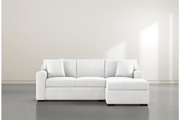 Cypress II Foam Sofa With Reversible Chaise
