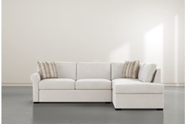"Elm II Foam 2 Piece 108"" Sectional With Right Arm Facing Armless Chaise"