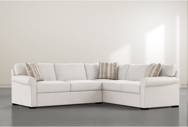 "Elm II Foam 2 Piece 108"" Sectional With Left Arm Facing Condo Sofa - 360"