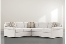 "Elm II Foam 2 Piece 108"" Sectional With Right Arm Facing Condo Sofa"