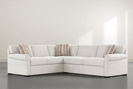 """Elm II Foam 2 Piece 108"""" Sectional With Right Arm Facing Condo Sofa"""