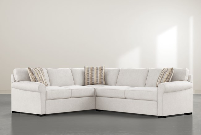 """Elm II Foam 2 Piece 108"""" Sectional With Right Arm Facing Condo Sofa - 360"""