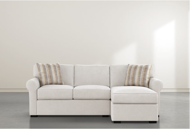 Elm II Foam Sofa With Reversible Chaise - 360