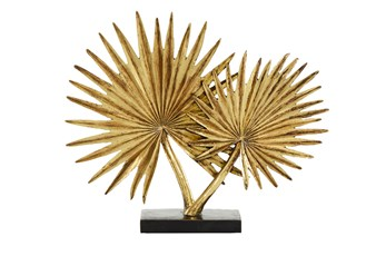 16 Inch Gold Leaf Sculpture