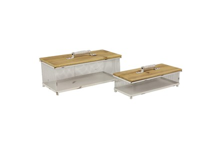 Rl White Wired Box Set Of 2 - Main