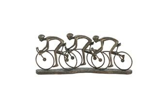 Ml 8 Inch Multi Cyclist Sculpture