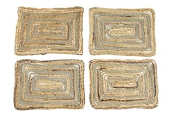 Brown Grass Placemat Set Of 4