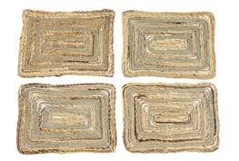 Brown Grass Placemat Set Of 4