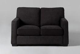 Morris Charcoal Twin Sleeper Sofa With Innerspring Mattress