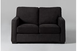 Morris Charcoal Twin Sleeper Sofa With Pillow Top Mattress