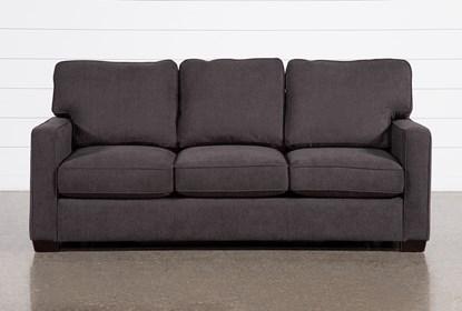 Morris Charcoal Queen Sleeper Sofa With