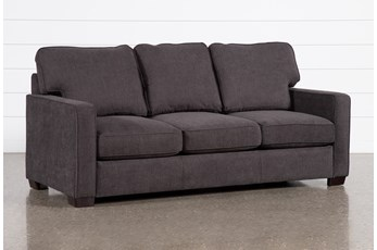 Morris Charcoal Queen Sleeper Sofa With Innerspring Mattress