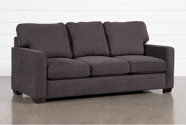 Morris Charcoal Queen Sleeper Sofa With Innerspring Mattress - 360