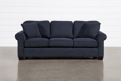 Margot Denim Full Sleeper Sofa With