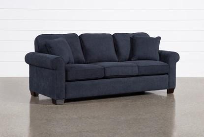 Margot Denim Full Sleeper Sofa With
