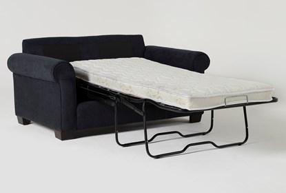 Margot Denim Twin Sleeper Sofa With
