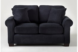 Margot Denim Twin Sleeper Sofa With Memory Foam Mattress