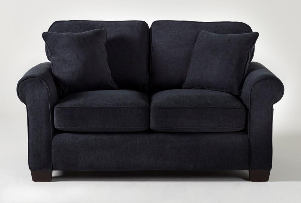 Margot Denim Twin Sleeper Sofa With Pillow Top Mattress