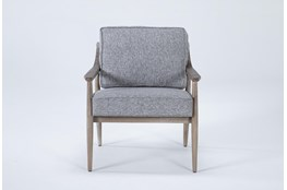 Dena Grey Accent Chair