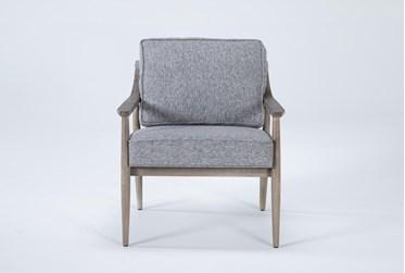 Dena Grey Accent Chair