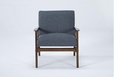 Derick Slate Accent Chair
