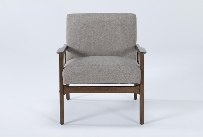 Derick Cocoa Accent Chair - 360