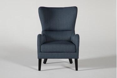 Marisol Indigo Accent Chair