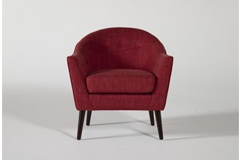 Marina Red Accent Chair