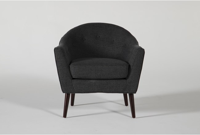 Marina Charcoal Accent Chair - 360