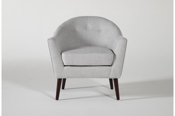 Marina Light Grey Accent Chair
