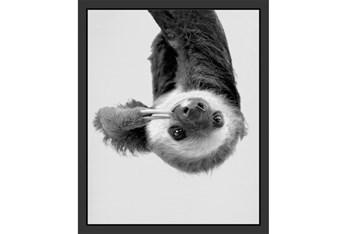 18X22 Hanging Sloth
