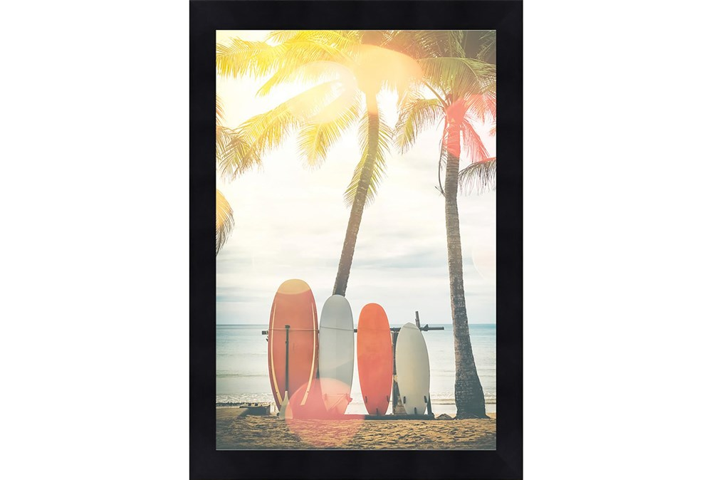 Picture-Surfboards & Palm Trees 18X24
