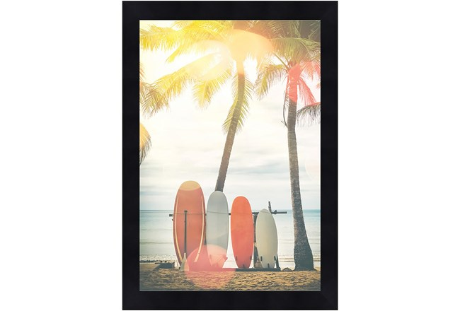 Picture-Surfboards & Palm Trees 18X24 - 360