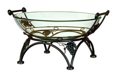 10 Inch Arch Glass Bowl Stand