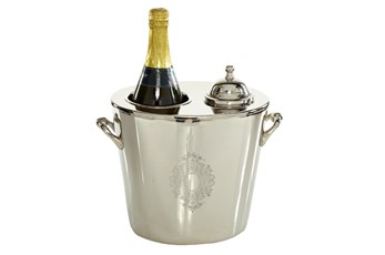 10 Inch Silver Wine Cooler