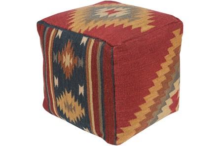 Pouf-Aztec Multicolor
