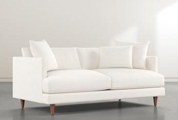 """Adeline II White 81"""" Sofa"""