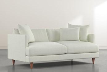 """Adeline II Green 81"""" Sofa"""