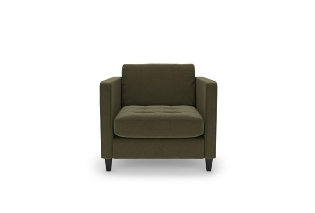Magnolia Home Sinclair Luxe Moss Chair By Joanna Gaines - 360