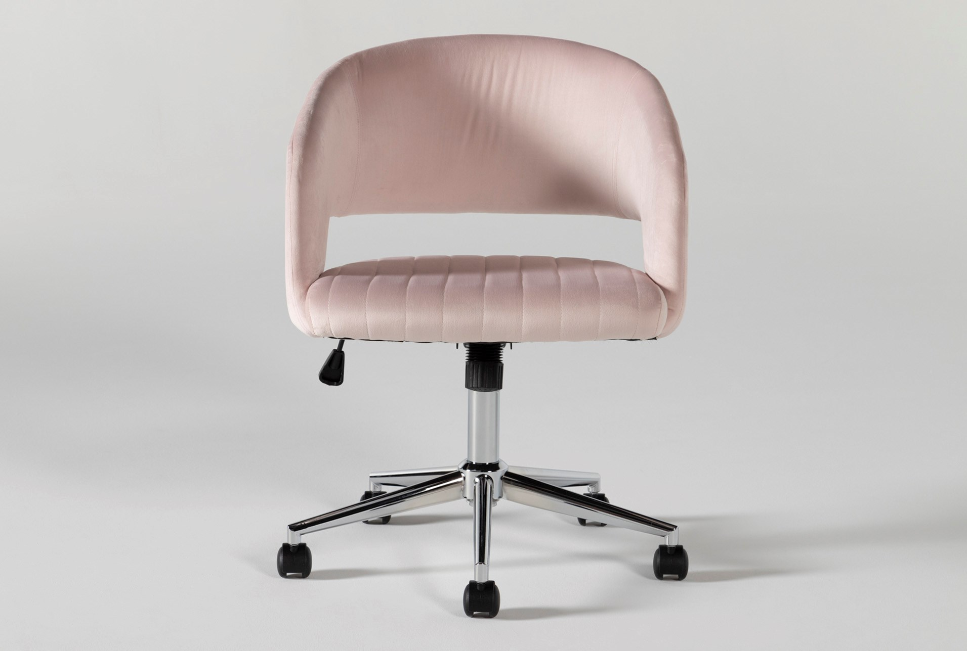 Phoebe Blush Pink Office Chair
