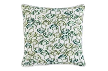 Outdoor Accent Pillow-Palm Ginko 20X20