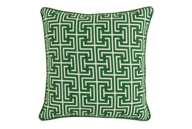 Outdoor Accent Pillow-Palm Greek Key 20X20 - 360