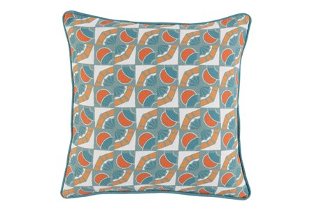 Outdoor Accent Pillow-Carnelian And Mineral Deco 18X18 - Main