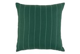 Outdoor Accent Pillow-Palm Pinstripe 22X22