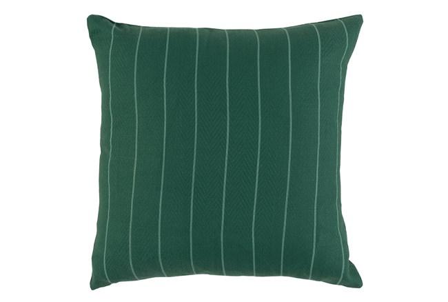 Outdoor Accent Pillow-Palm Pinstripe 22X22 - 360